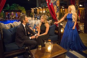 arie luyendyk jr bachelor night one chelsea maquel interrupt - 'The Bachelor' Premiere Recap: Who Got Arie's First Impression Rose?