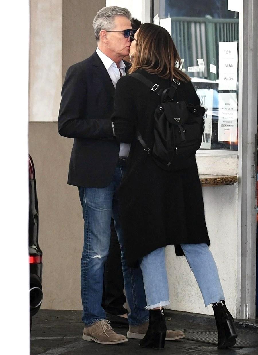 David Foster Katharine McPhee kissing