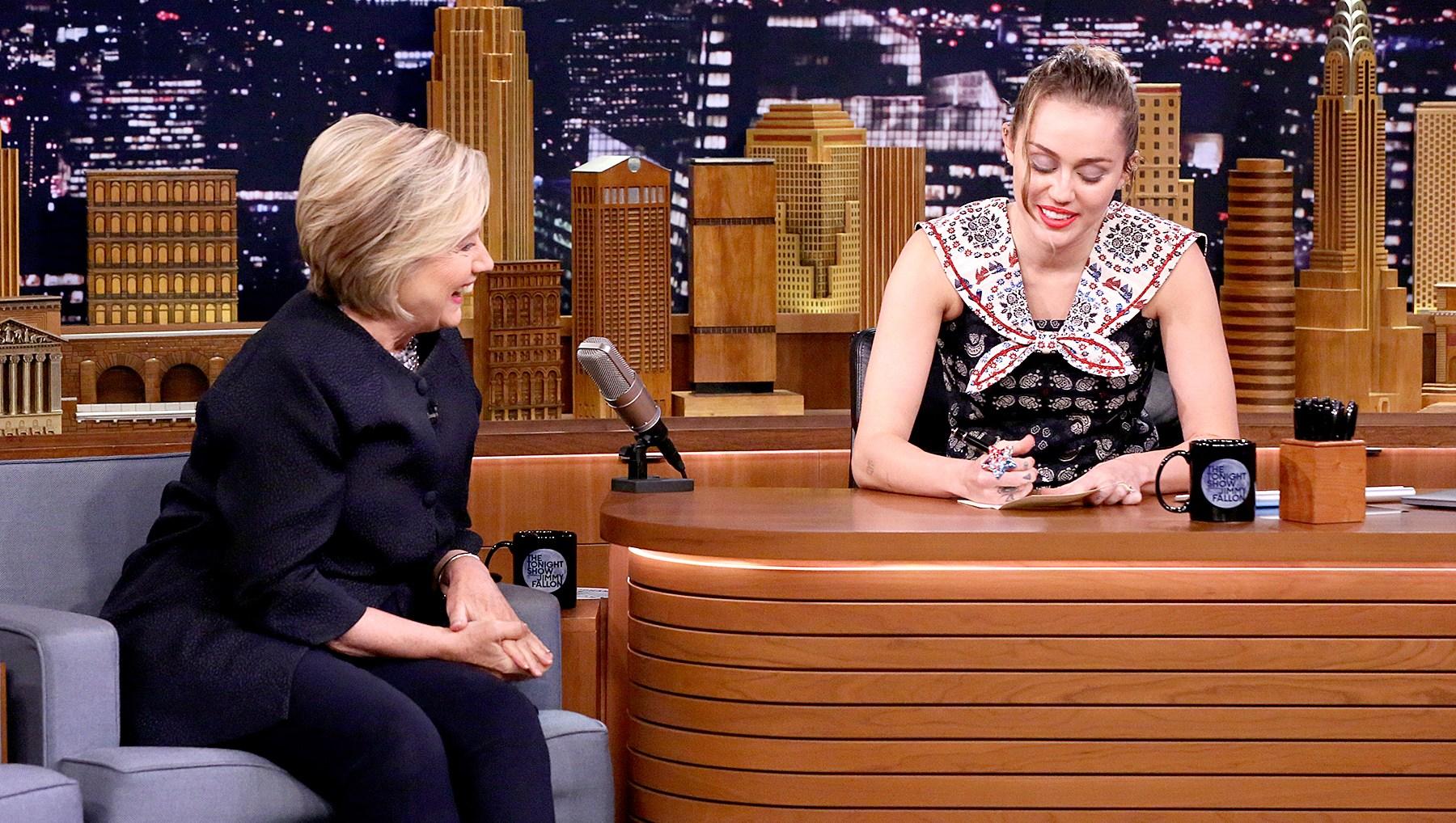 Hilary-Clinton-Miley-Cyrus