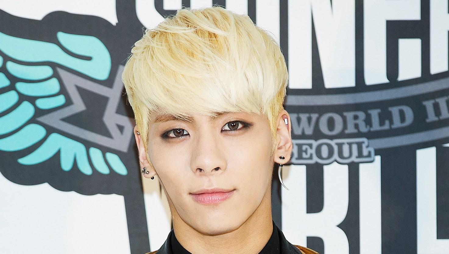 Jonghyun of South Korean boy band SHINee