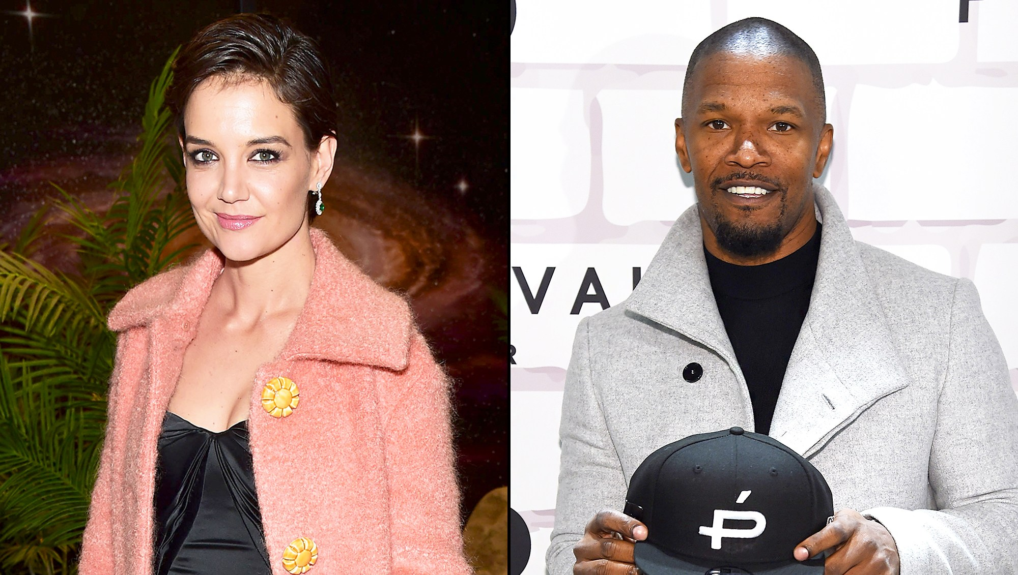 Katie Holmes and Jamie Foxx attends Prive Revaux Eyewear's New York Flagship launch on December 4, 2017 in New York City.