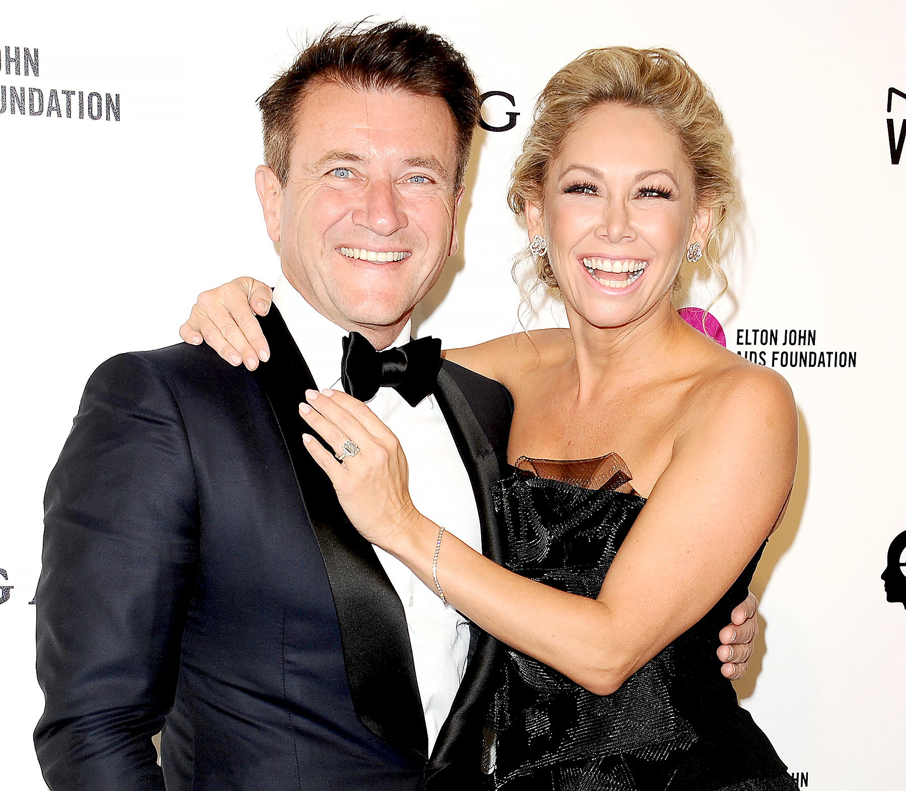 Kym Johnson, Robert Herjavec expecting first child together