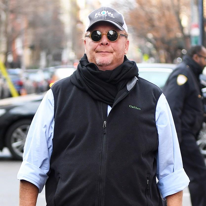 Mario Batali in New York City on December 20, 2017