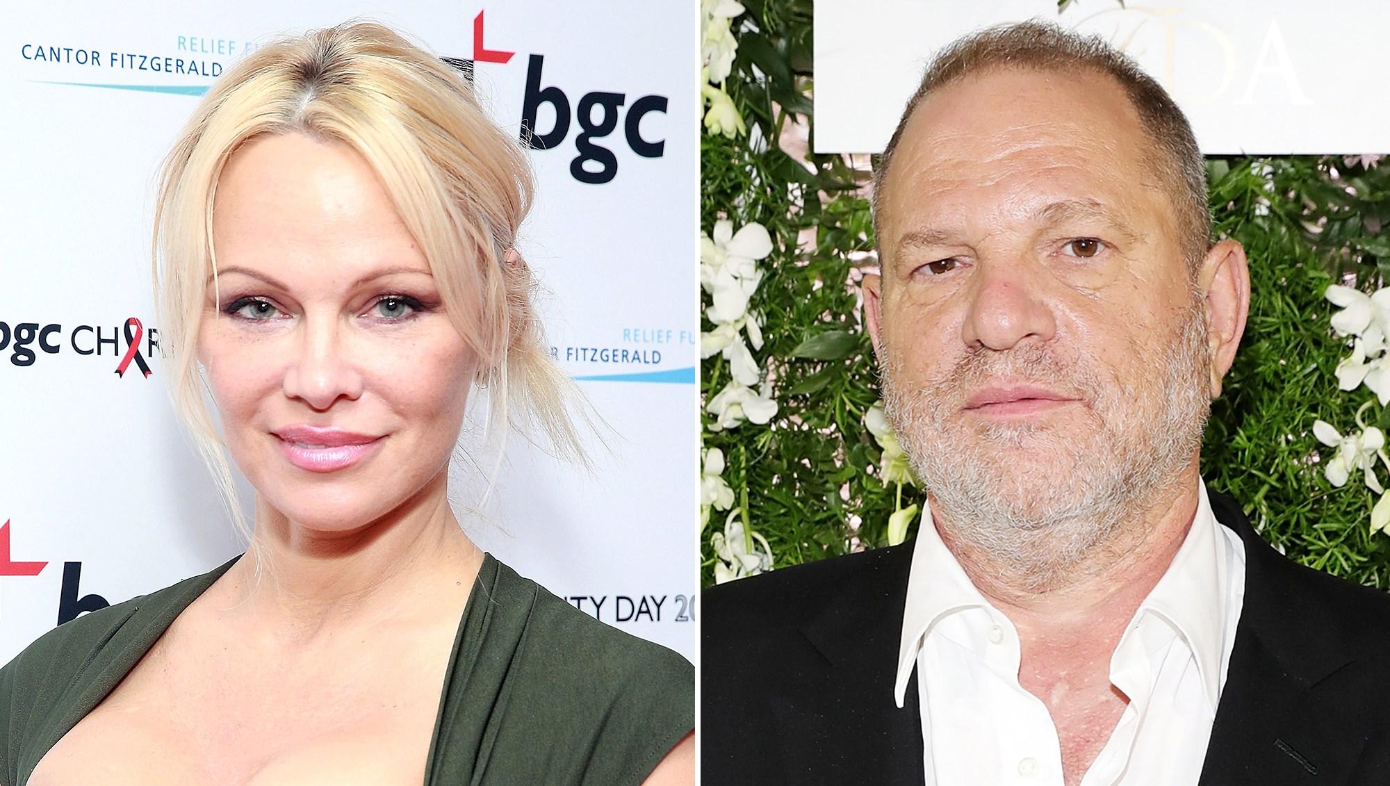Pamela Anderson Harvey Weinstein