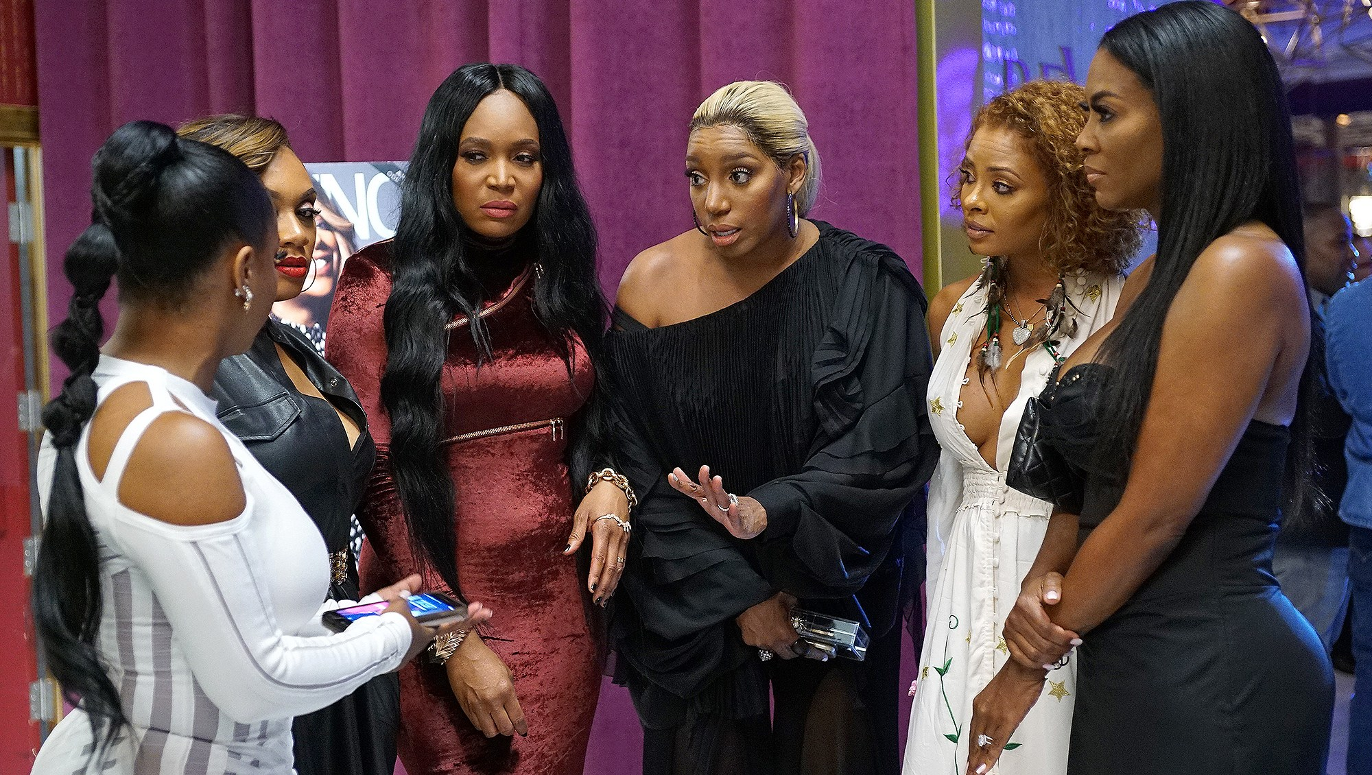 Real Housewives of Atlanta, Kandi Burruss, Marlo Hampton, Nene Leakes, Eva Marcille, Kenya Moore