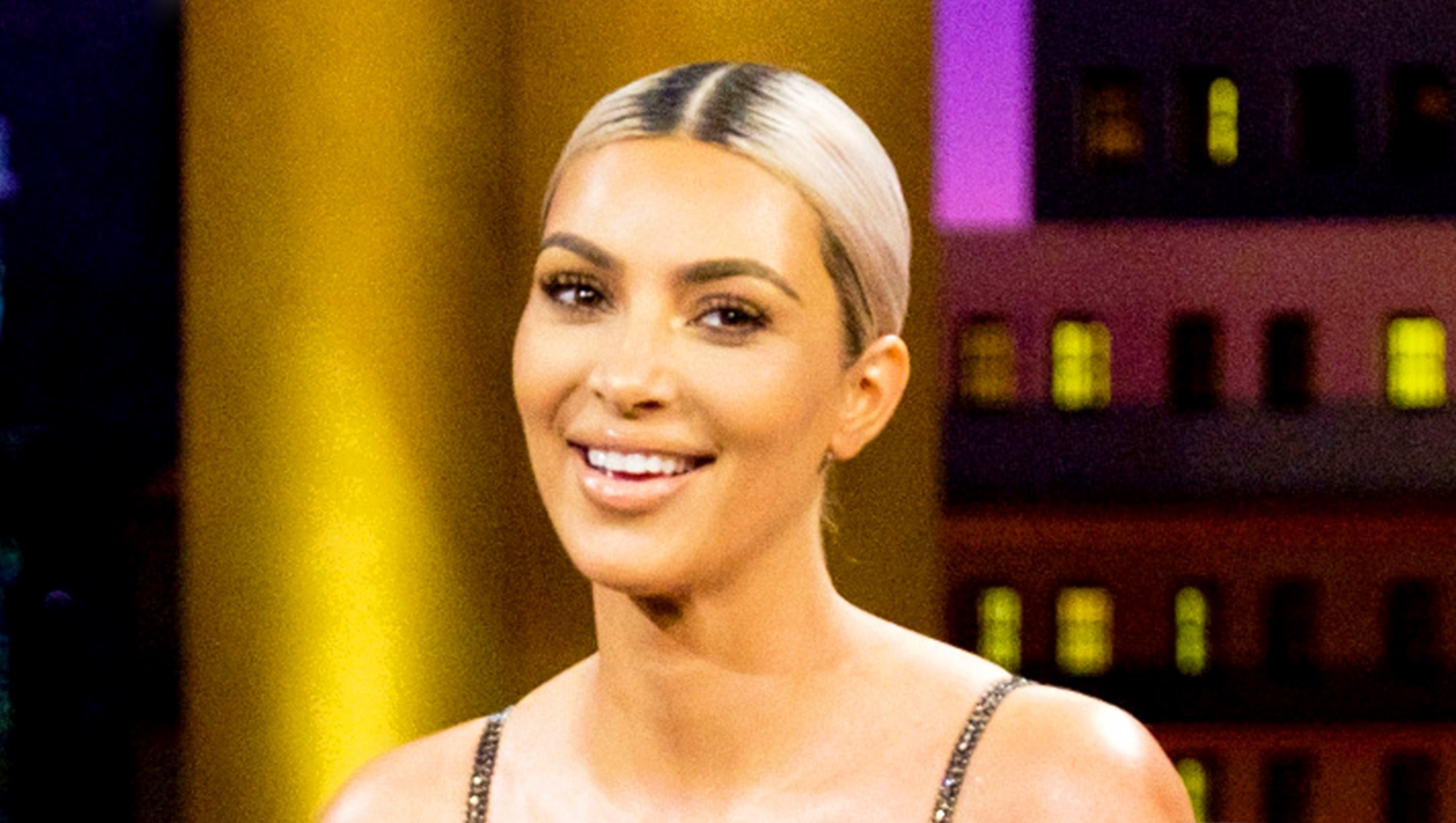 Kim Kardashian on 'The Late Late Show with James Corden'