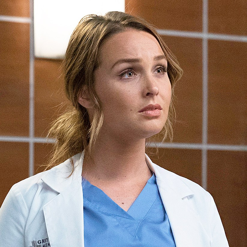 Camilla Luddington and Matthew Morrison on 'Grey's Anatomy'