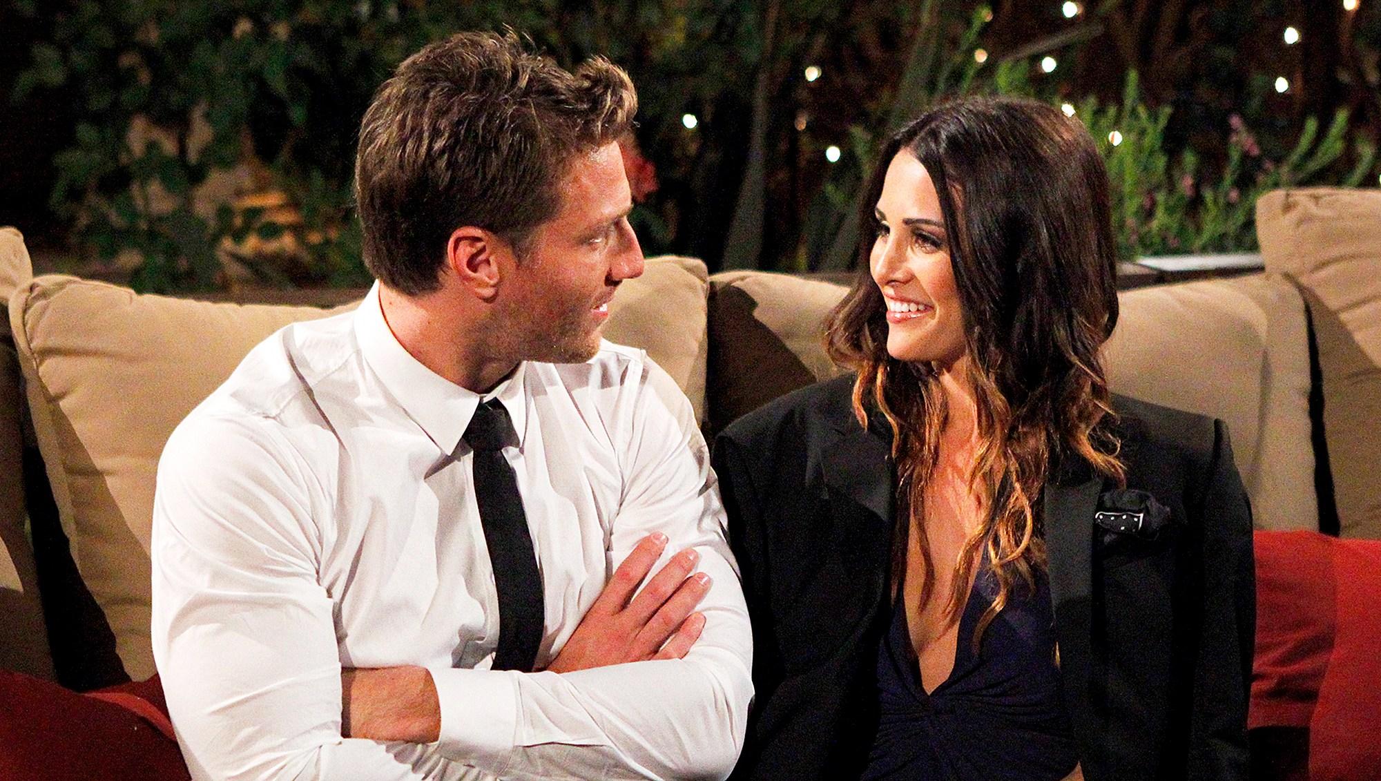 Juan Pablo Galavis and Andi Dorfman on 'The Bachelor'