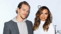 Ryan Dorsey and Naya Rivera arrive at the 2015 March Of Dimes Celebration Of Babies at the Beverly Wilshire Four Seasons Hotel in Beverly Hills, California.