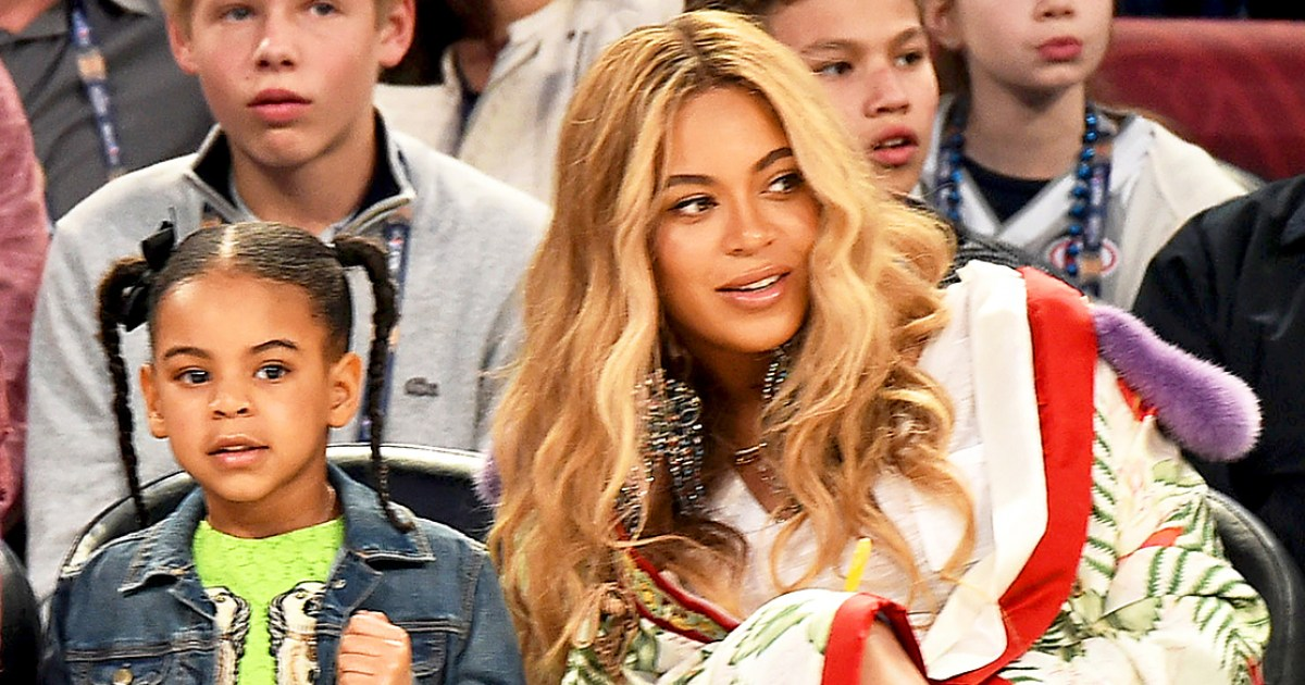 Beyonce Is a 'Very Involved' Mom and Blue Ivy 'Loves the ... Beyonce Twins