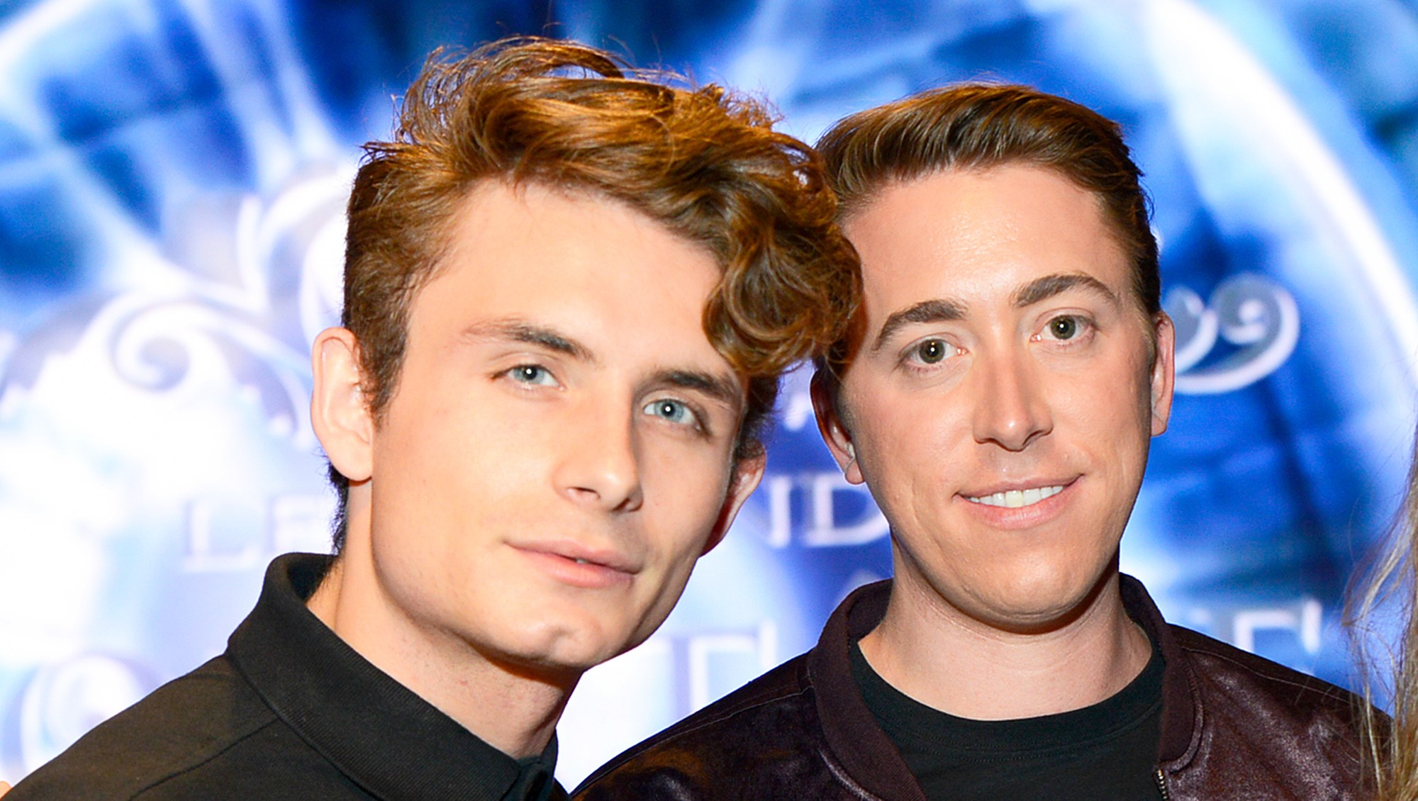 James Kennedy and Logan Noh attend Art Hearts Fashion LAFW Fall/Winter 2017 at The Beverly Hilton Hotel in Beverly Hills, California.