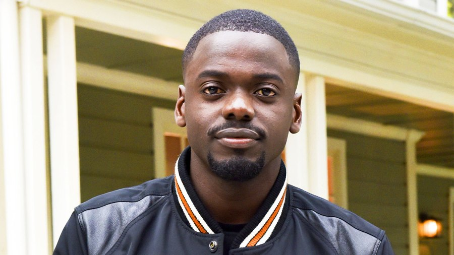 """Daniel Kaluuya arrives at """"Get Out"""" garden party on May 9, 2017."""