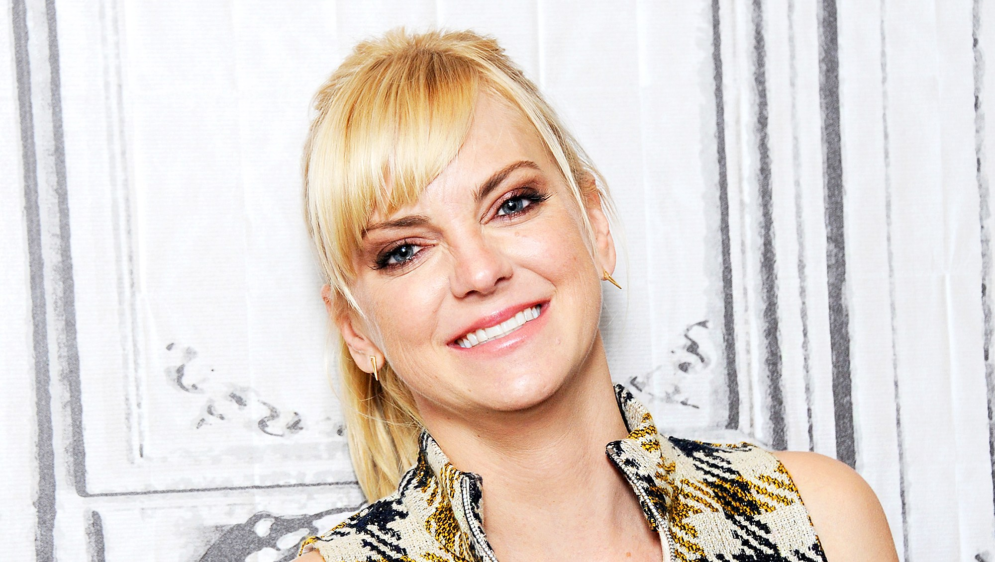 Anna Faris visits Build to discuss her podcast 'Unqualified' in New York City.