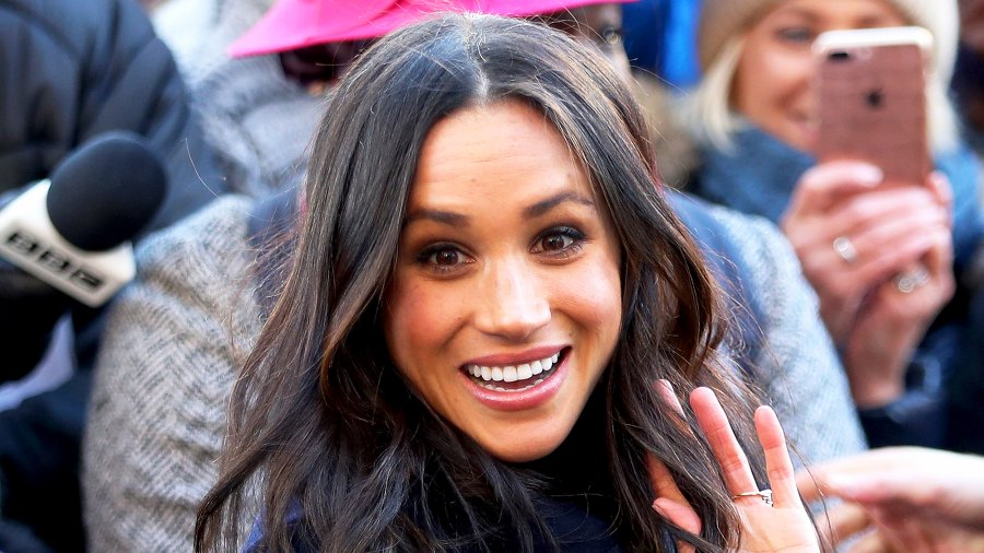 Meghan Markle attends the Terrance Higgins Trust World AIDS Day charity fair on December 1, 2017 in Nottingham, England.