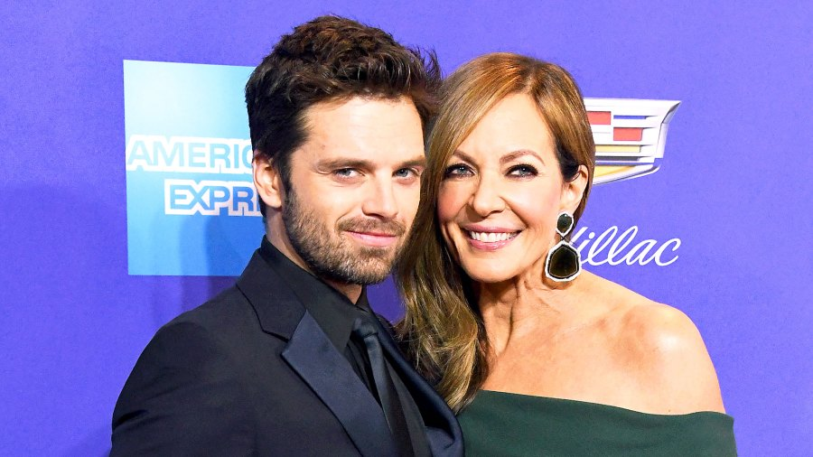 Sebastian Stan and Allison Janney attend the 29th Annual Palm Springs International Film Festival Awards Gala at Palm Springs Convention Center on January 2, 2018 in Palm Springs, California.