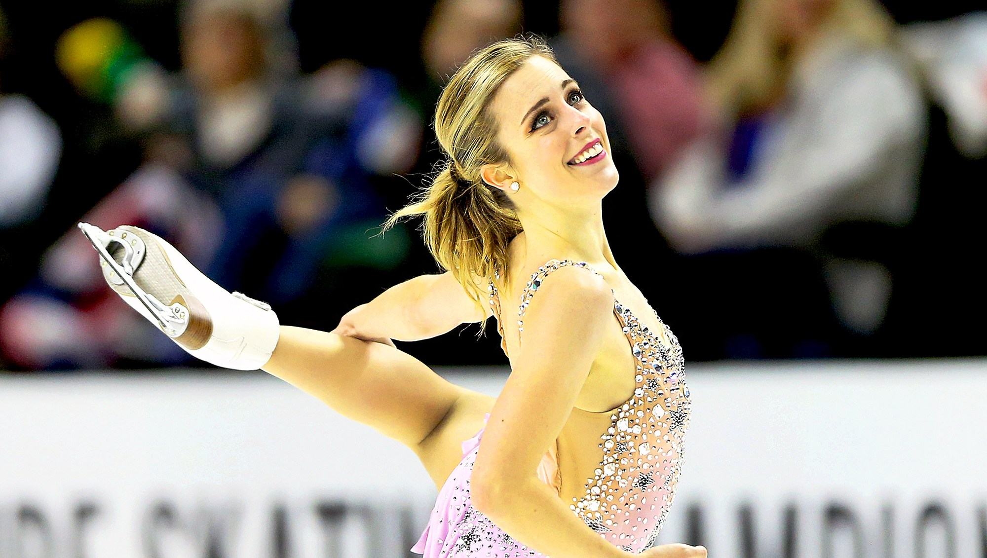 Ashley Wagner competes in the Ladies Free Skate during the 2018 Prudential U.S. Figure Skating Championships at the SAP Center on January 5, 2018 in San Jose, California.