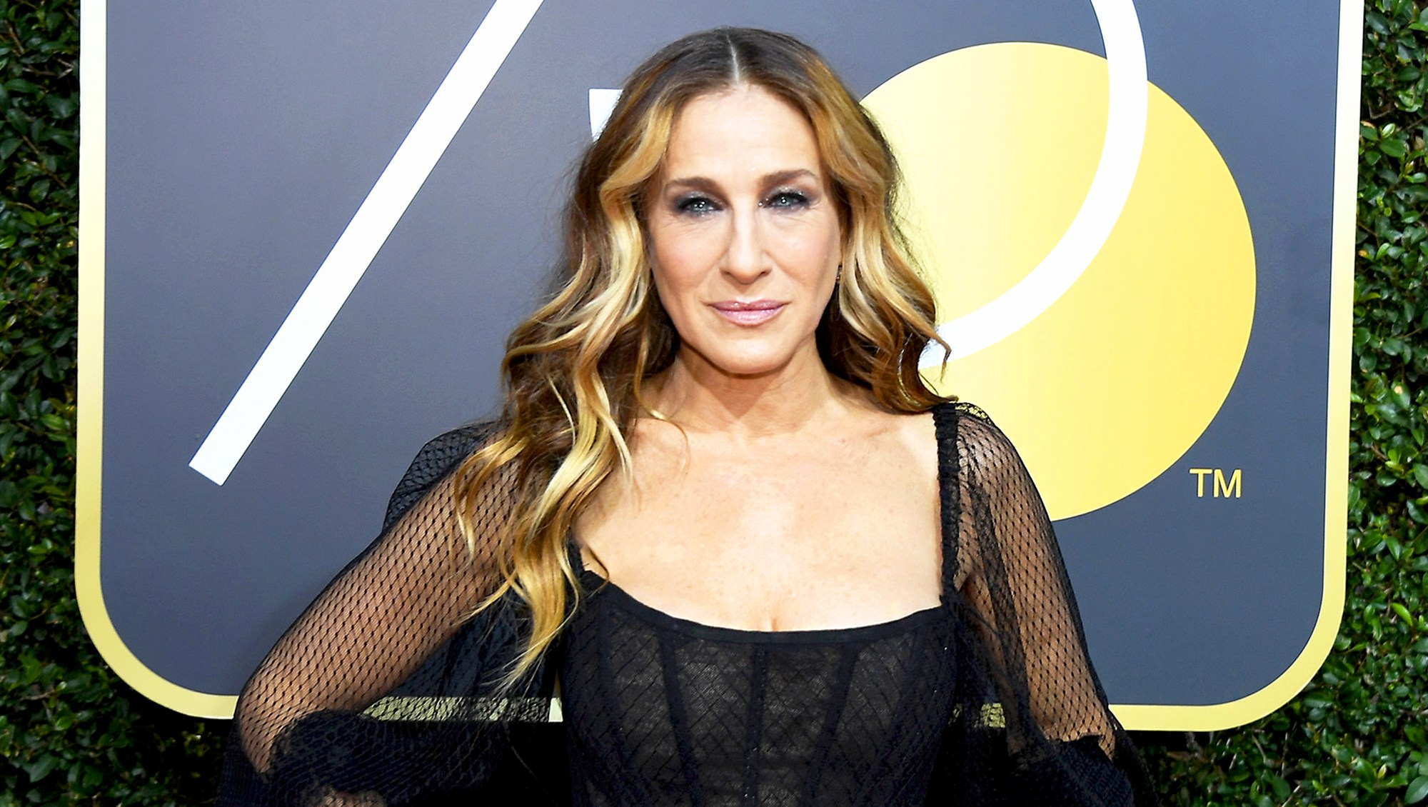 Sarah Jessica Parker arrives to the 75th Annual Golden Globe Awards held at the Beverly Hilton Hotel on January 7, 2018.