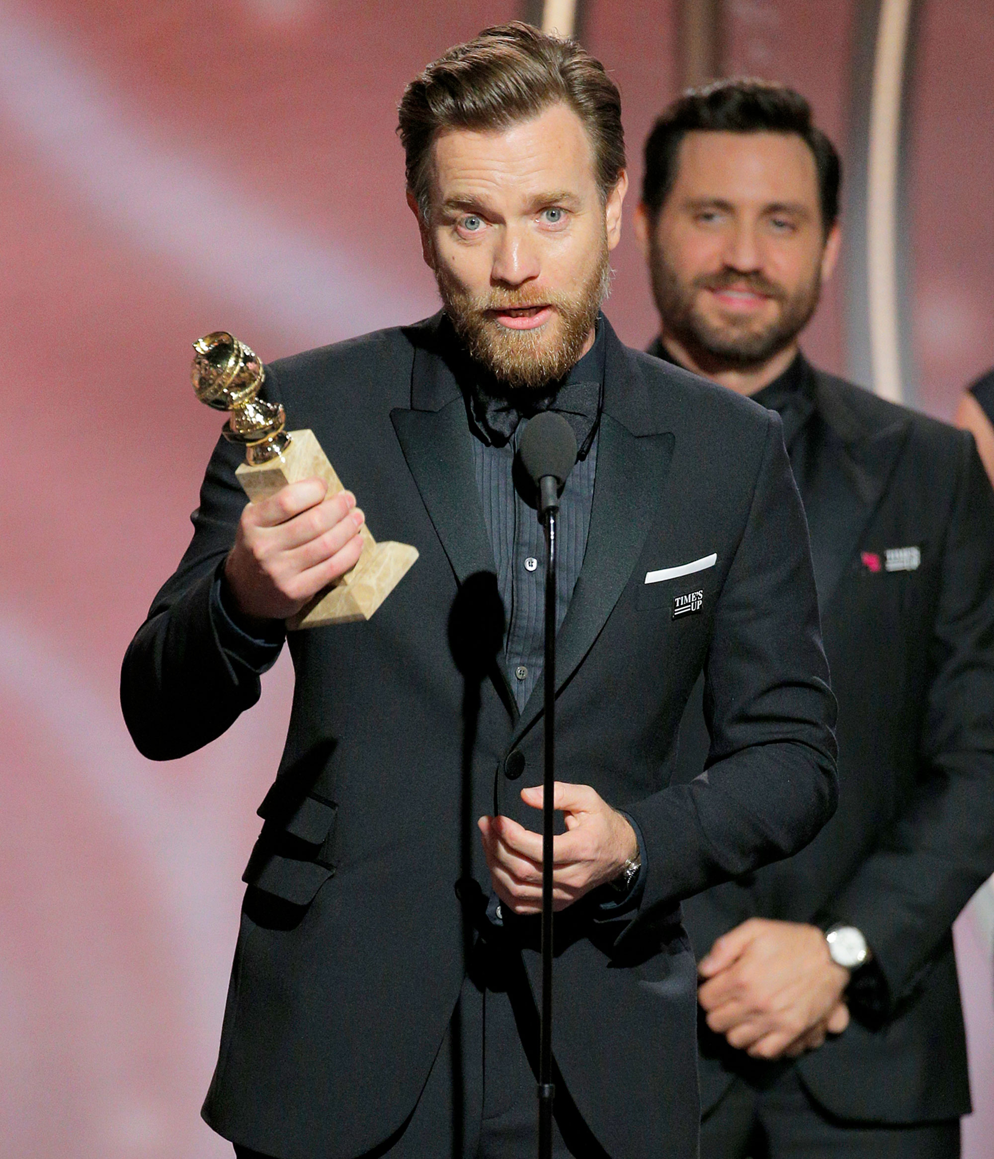 Ewan Mcgregor thanks wife and rumoured girlfriend after Golden Globes win