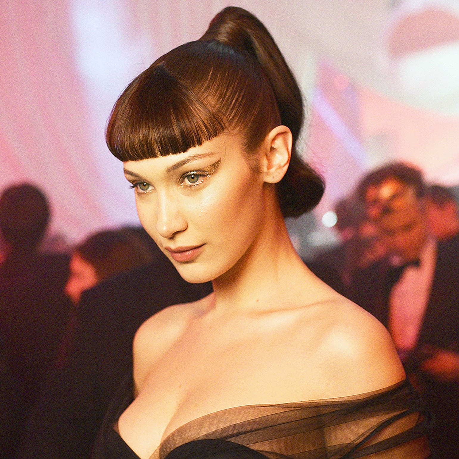 Bella Hadid attends Le Bal Surrealiste Dior during Haute Couture Spring Summer 2018 show as part of Paris Fashion Week in Paris, France.
