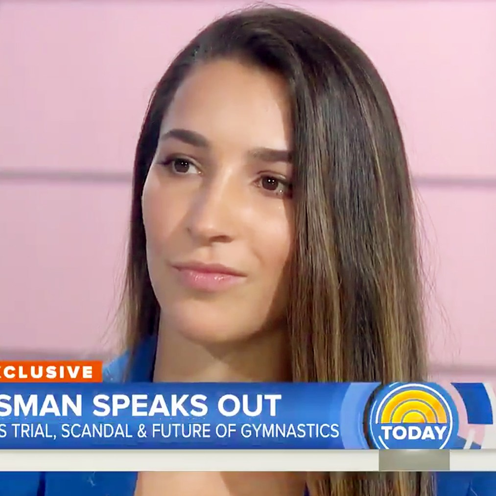 Aly Raisman speaks out Today show