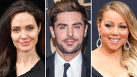 Angelina Jolie, Zac Efron, Mariah Carey, Golden Globes Presenters