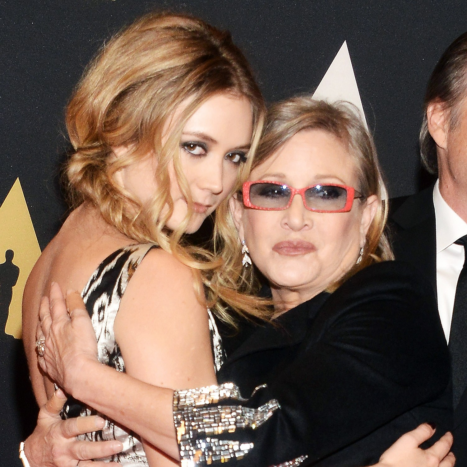 Carrie Fisher Wins Posthumous Billie Lourd