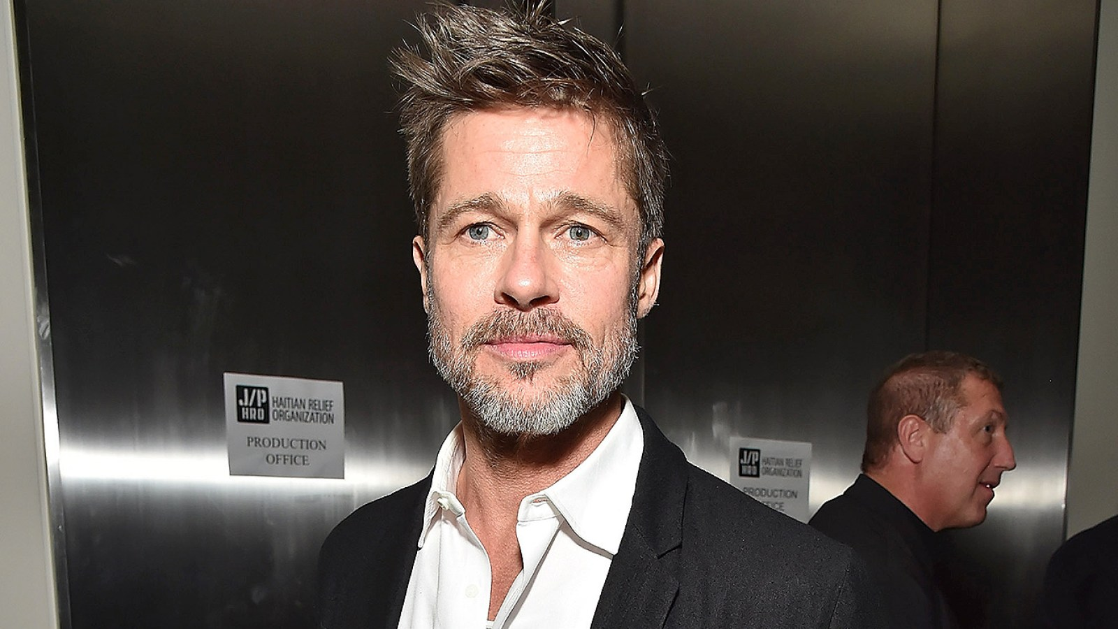 Brad Pitt Emilia Clarke Kit Harington Sean Penn Haiti Rising Gala Crop Resize Ssl