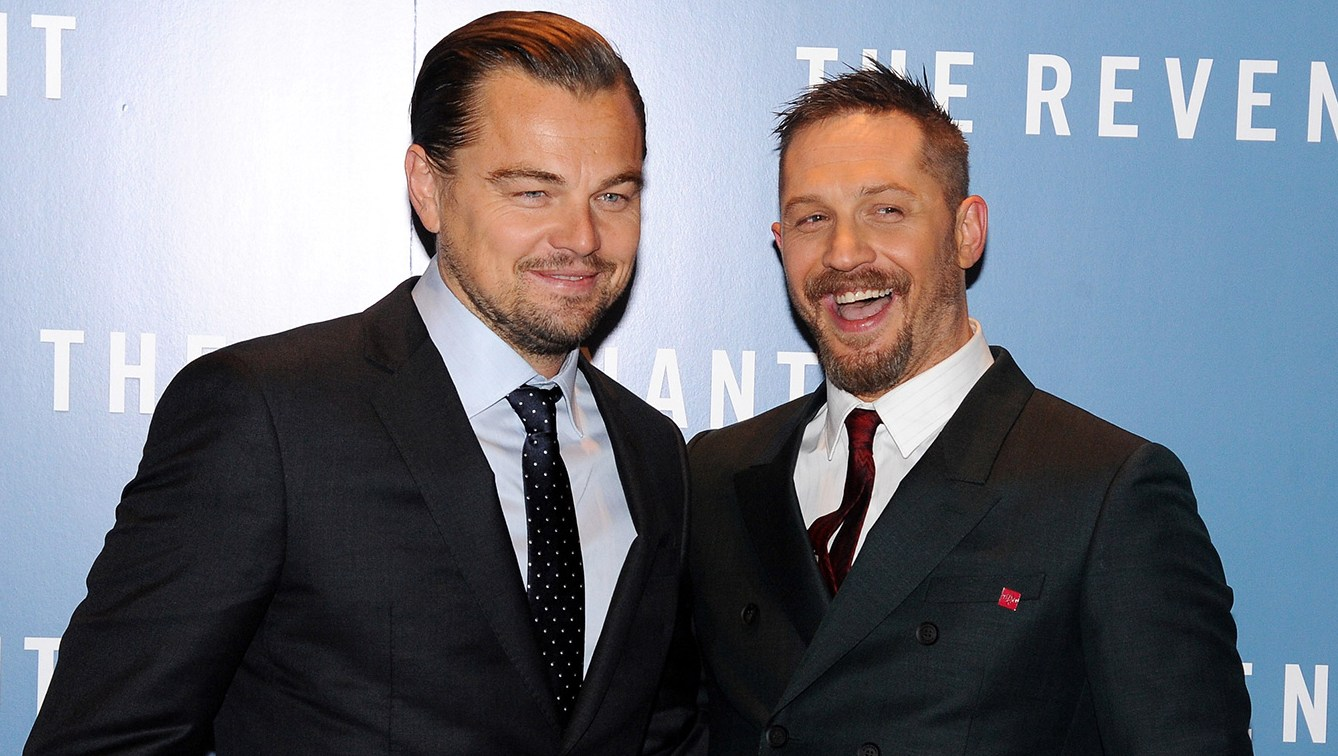 Leonardo DiCaprio and Tom Hardy