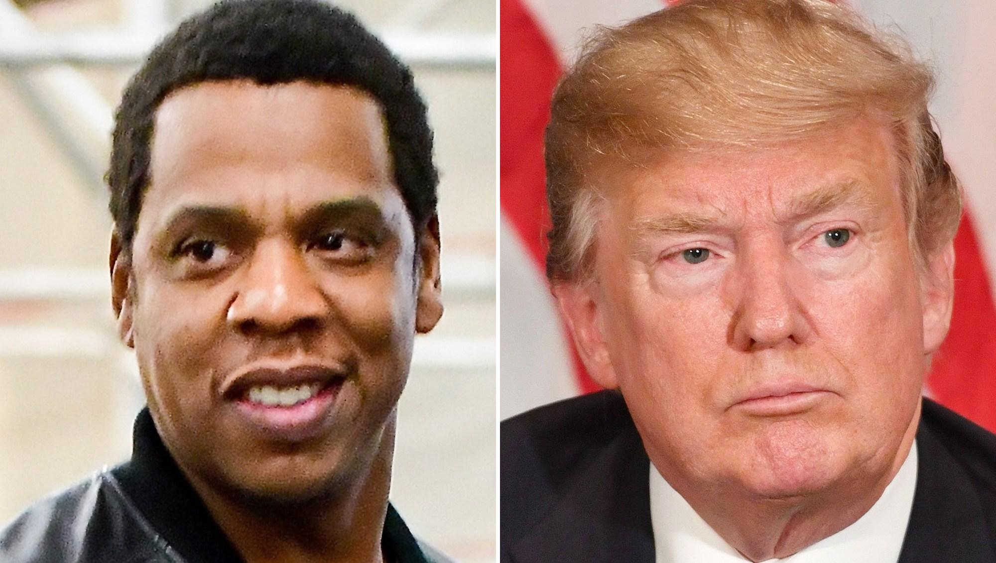 Jay Z, Donald Trump, Twitter, Unemployment