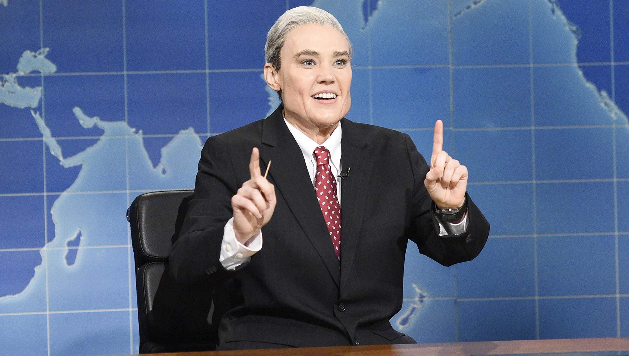 Kate McKinnon, Robert Mueller, Saturday Night Live, Weekend Update