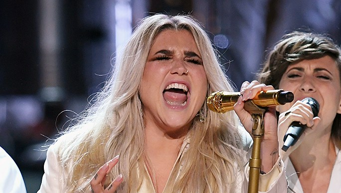 Kesha performance reactions Grammys 2018