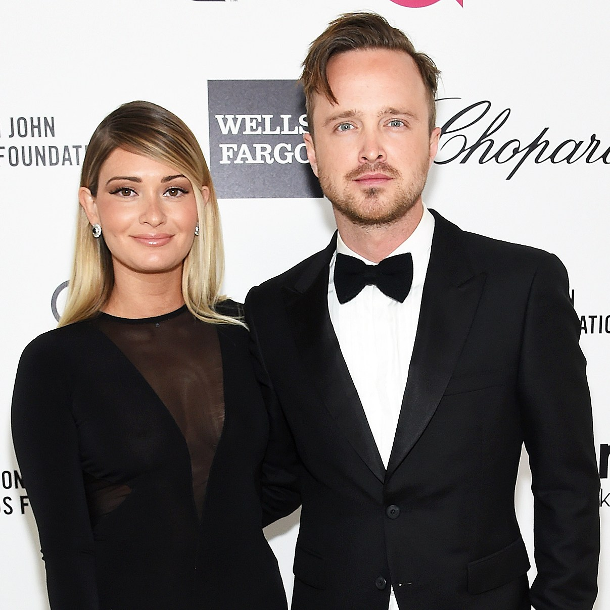 Aaron Paul Lauren Parsekian Welcome Baby Girl