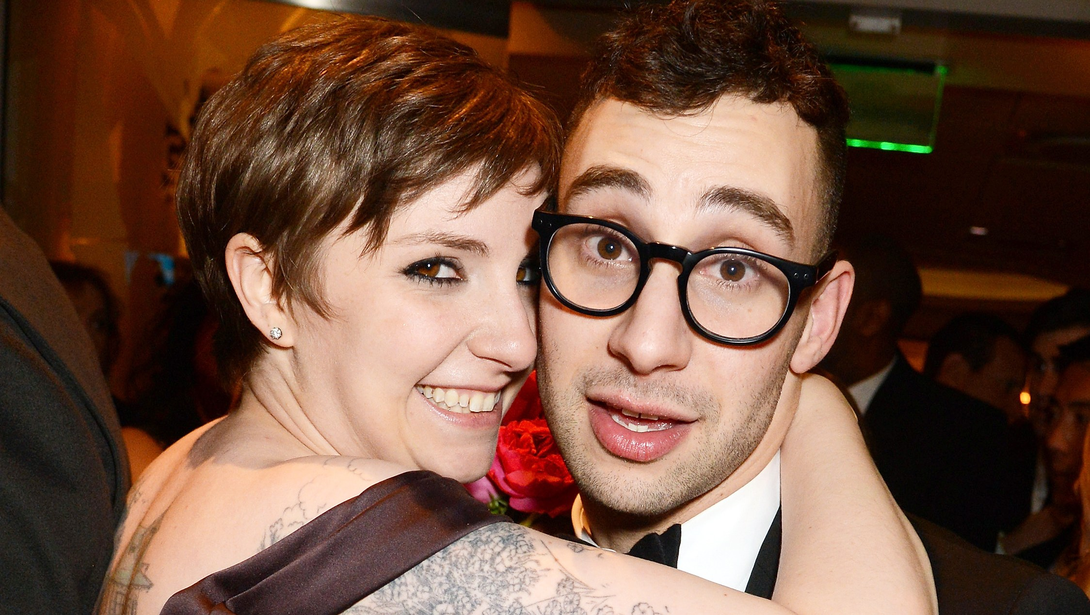 Lena Dunham Jack Antonoff The Way They Were
