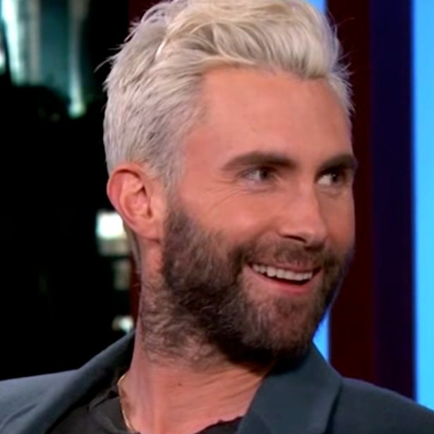 Adam Levine on Kimmel