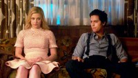 Lili Reinhart as Betty and Cole Sprouse as Jughead in 'Riverdale'