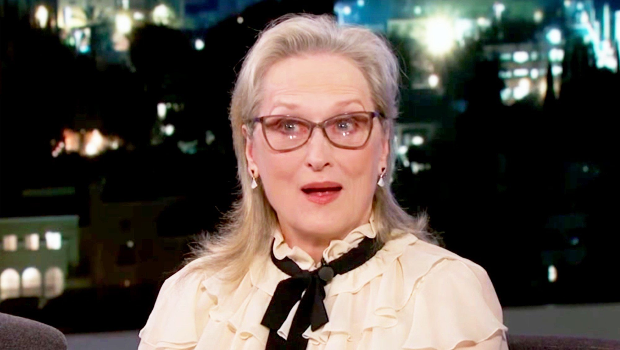Meryl Streep on 'Jimmy Kimmel Live'