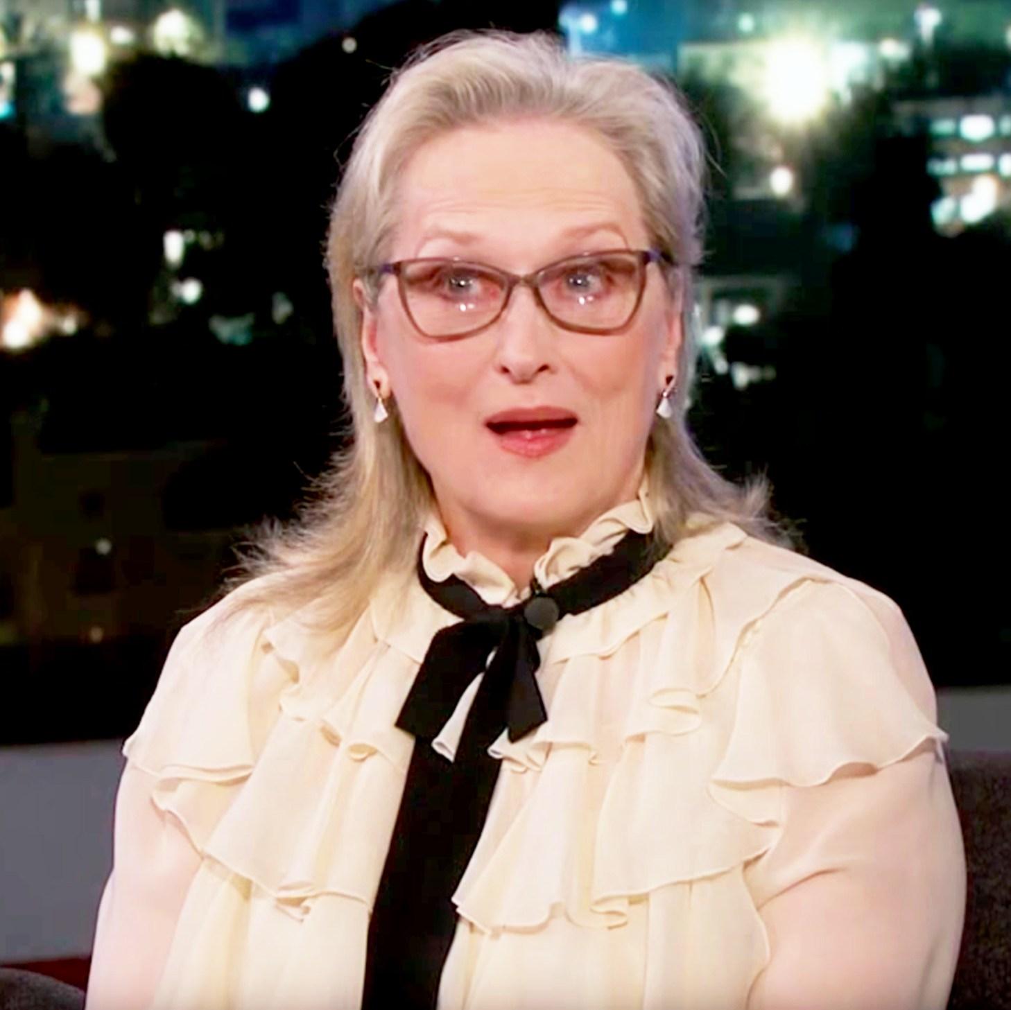 Meryl Streep on 'Jimmy Kimmel Live'
