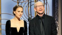 Natalie Portman Introduces All-Male Nominees for Best Director at Golden Globes 2018