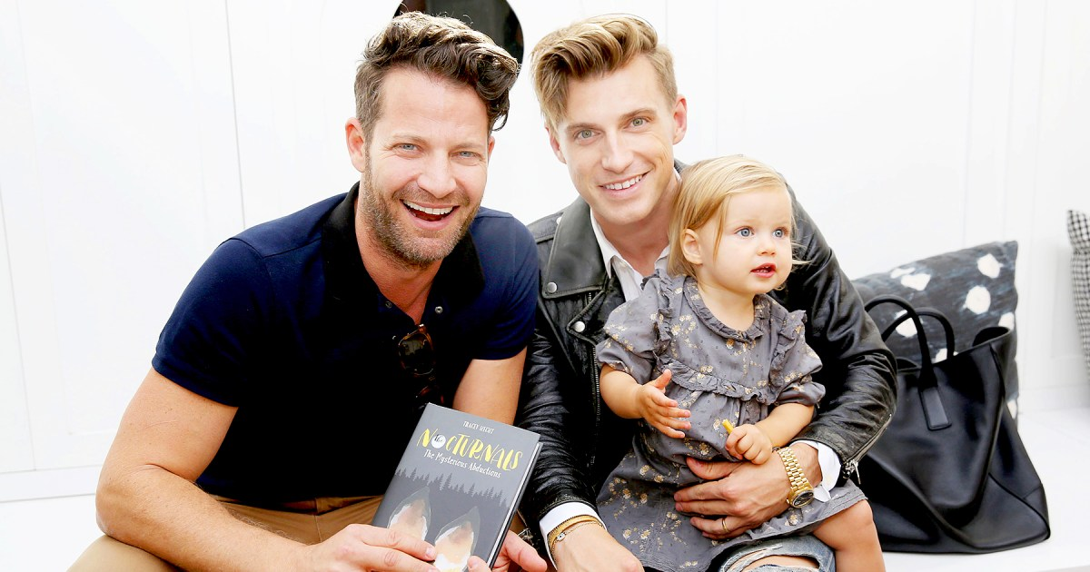 nate berkus and jeremiah brent hate their daughter 39 s. Black Bedroom Furniture Sets. Home Design Ideas