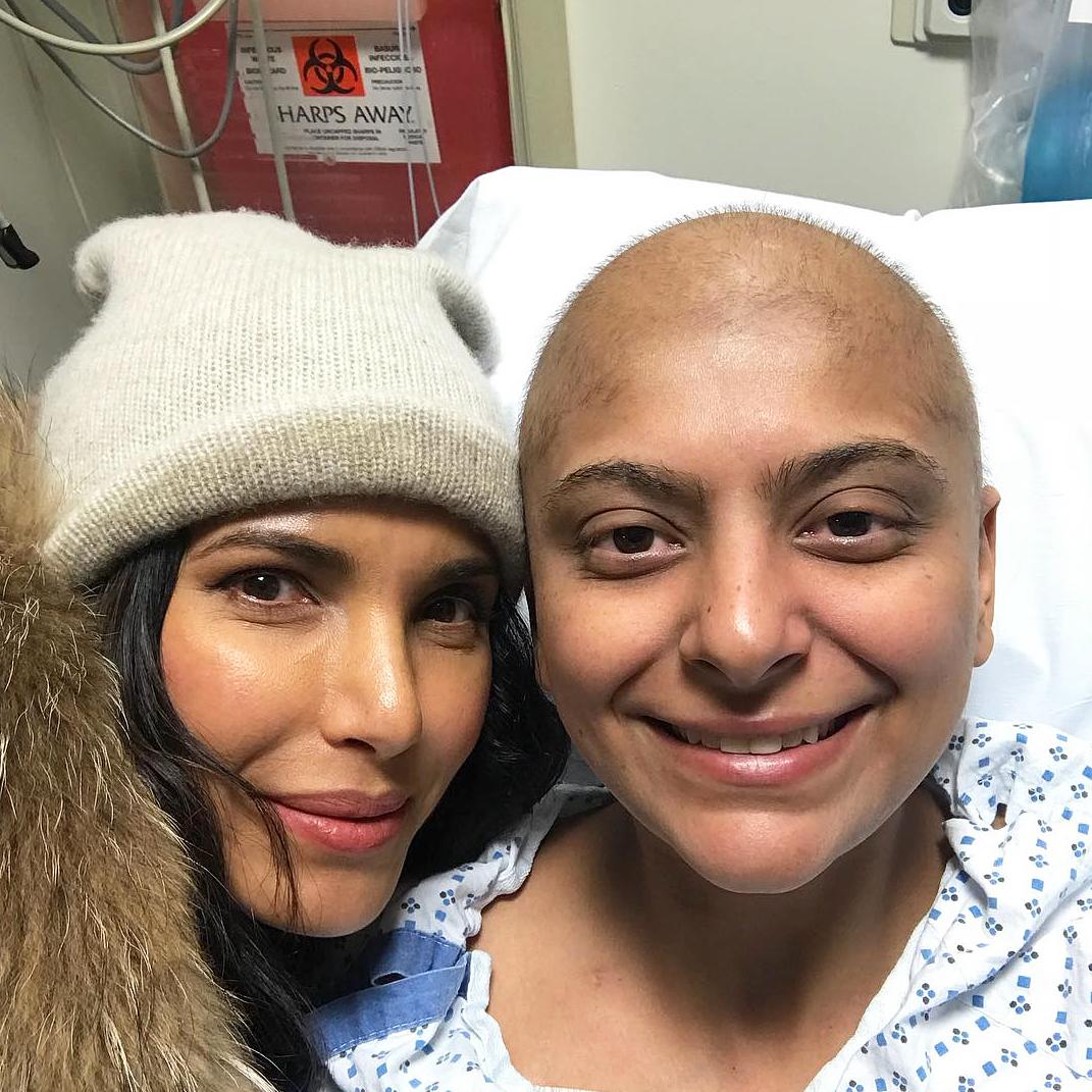 Padma Lakshmi Fatima Ali cancer