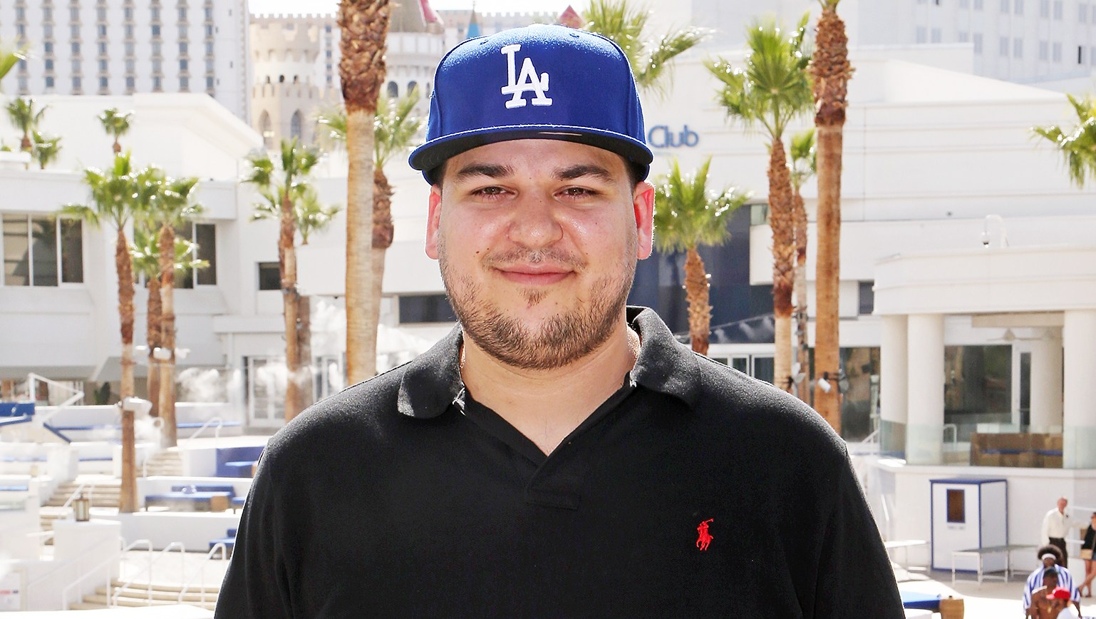Rob Kardashian Hints at Chicago West Name