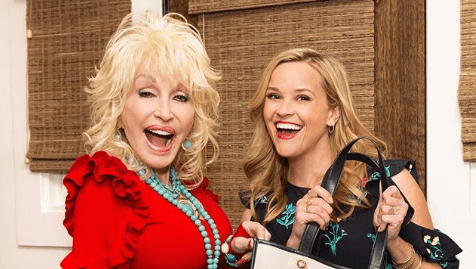 Reese Witherspoon and Dolly Parton