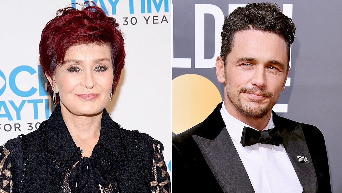 Sharon Osbourne and James Franco