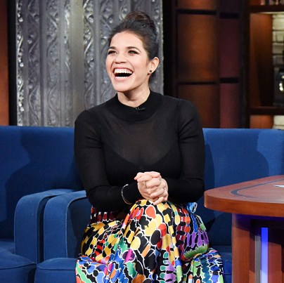 America Ferrera The Late Show with Stephen Colbert
