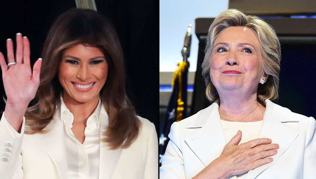 Melania Trump & Hillary Clinton