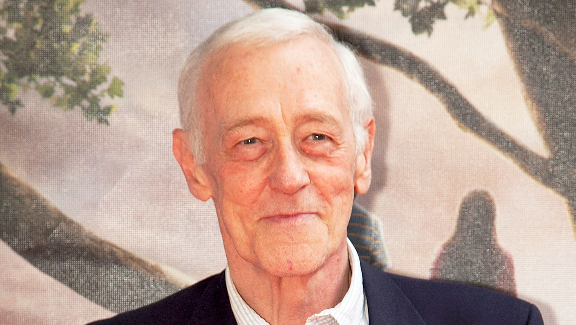"""John Mahoney attends the 2010 premiere of """"Flipped"""" at the Hilbert Circle Theatre in Indianapolis, Indiana."""