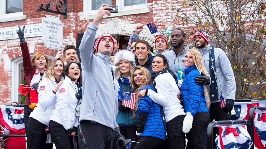 'The Bachelor Winter Games' cast