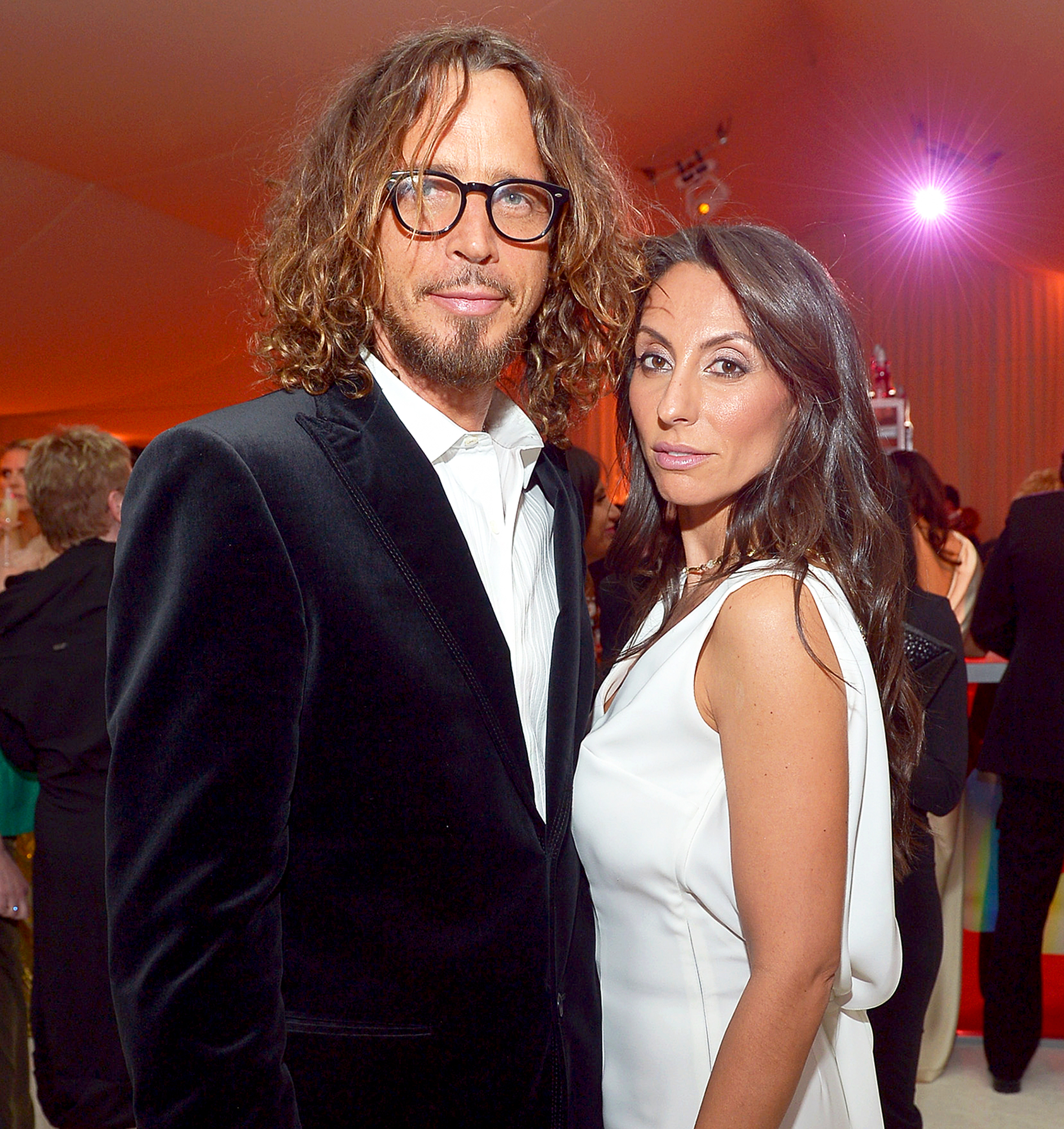 Chris Cornell's widow opens up about his addiction