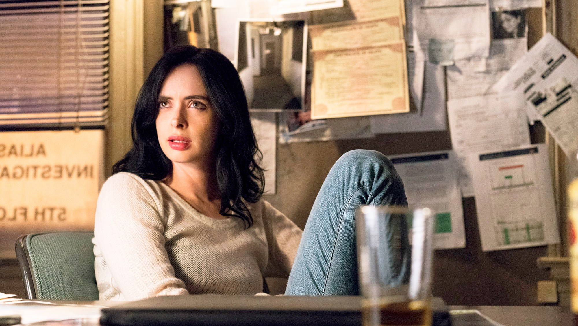 Krysten Ritter in 'Jessica Jones' New Season 2 Trailer