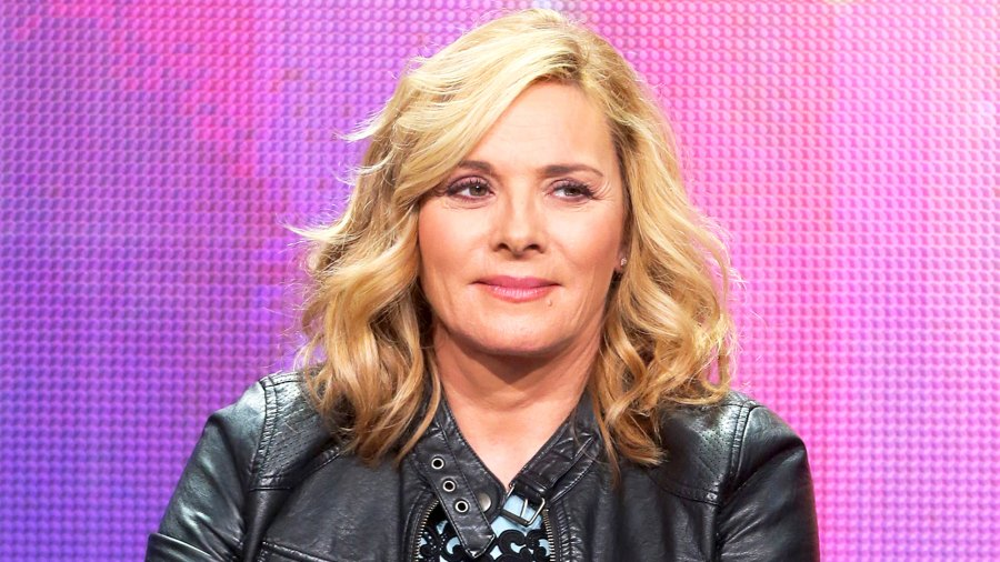 Kim Cattrall attends the PBS Networks portion of the 2014 Summer Television Critics Association at The Beverly Hilton Hotel in Beverly Hills, California.